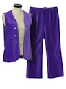 Womens Corduroy Pants Suit