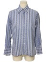 Mens Cotton Blend Print Disco Shirt