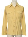 Mens Velour Sport Shirt