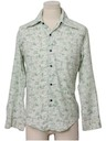 Mens Disney Print Disco Style Cotton Blend Kennington Shirt