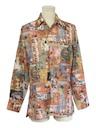 Mens Photoprint Disco Shirt