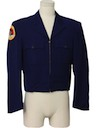 Mens Eisenhower Ike Style Uniform Blazer Jacket