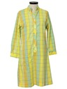 Womens Mod A-line House Dress
