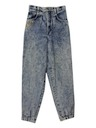 Womens Acid Washed Jeans Pants