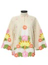 Womens Embroidered Hippie Jacket