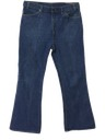 Mens Levis Deep Flared Jeans Pants