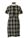 Womens Wool Blend Day Dress