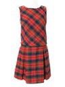 Womens Mod Wool A-line Dress