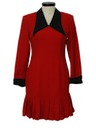 Womens Wicked 90s Wool Dress
