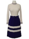 Womens Mod Wool Dress
