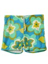 Mens Mod Hawaiian Board Shorts