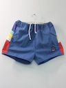 Mens Totally 80s Rainbow Style Swim Shorts
