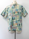 Mens Disney Reverse Print Hawaiian Shirt