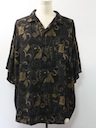 Mens Totally 80s Ugly Print Sport Shirt