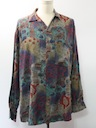 Mens Wicked 90s Print Sport Shirt