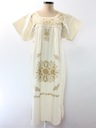 Womens Embroidered Hippie Maxi Dress