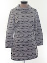 Womens Mod Mini Knit le Go-Go StyDress