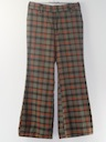 Mens Mod Bellbottom Disco Pants