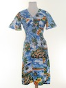 Womens A-Line Hawaiian Dress