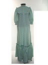 Womens Prairie Hippie Dress