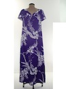 Womens Hawaiian Muu Muu Maxi Dress