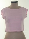 Womens Totally 80s Crop Top Shirt