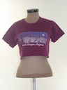 Womens Totally 80s Tourism Crop Top T-Shirt