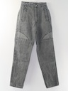 Womens Totally 80s Stone Washed Jeans Pants