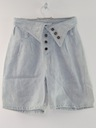 Womens Wicked 90s Acid Washed Denim Shorts