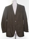 Mens Mod Tweed Blazer Sport Coat Jacket