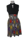 Womens Mod Mini Dress