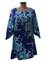 Womens Mini Hawaiian Muu Muu Dress