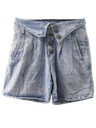Womens Totally 80s Acid Wash Shorts