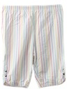 Womens Totally 80s Capri Pants