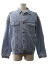 Mens Riot/Punk Studded Denim Jacket