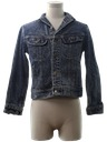 Mens/Boys Acid Wash Denim Jacket