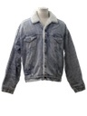 Mens Acid Washed Denim Jacket