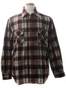 Mens Wool Flannel Shirt