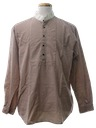 Mens Reproduction 1800s Style Western Shirt