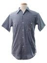 Unisex Chambray Hippie Shirt