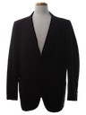 Mens Mod Smoking Jacket Style Blazer Sport Coat Jacket