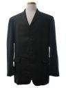 Mens Mod Western Sport Coat Blazer Jacket