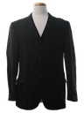 Mens Wool Mod Blazer Sport Coat Jacket