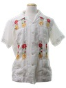 Mens Guayabera Mexican Wedding Shirt