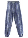Mens/Boys Totally 80s Print Baggy Pants
