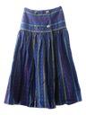 Womens Western Style Hippie Skirt