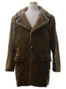 Mens Corduroy Car Coat