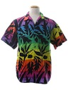 Mens Totally 80s OP Hawaiian Shirt