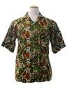 Mens Batik Sport Shirt