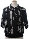 Mens Wicked 90s Print Resort Wear Shirt